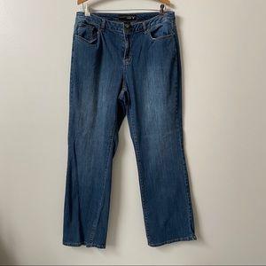 Venezia Straight Leg Denim Plus Size Jeans